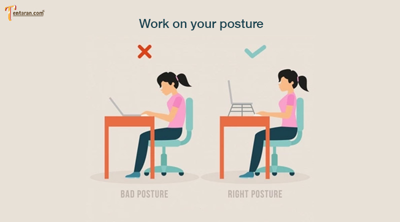 Work-on-your-posture for back pain