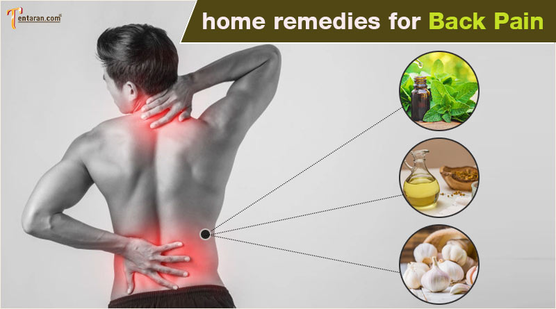 home remedies for back pain natural remedies