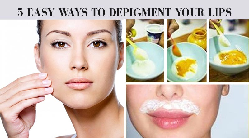 depigment your lips
