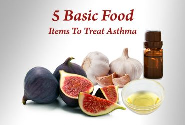 Five Basic Food items to treat Asthma