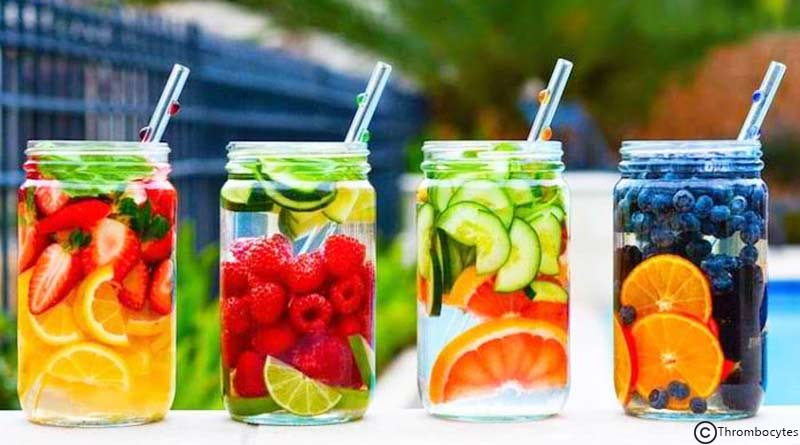 have clear skin by hydrating with detox water