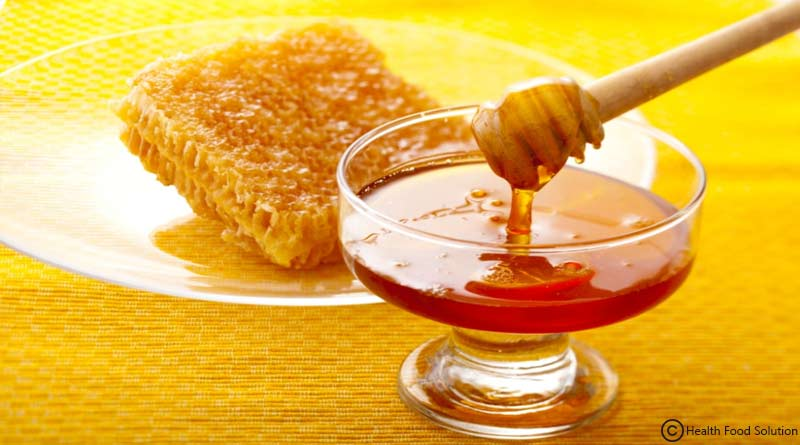 have clear skin with honey