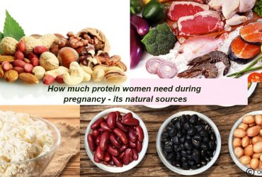 Protein women need during pregnancy
