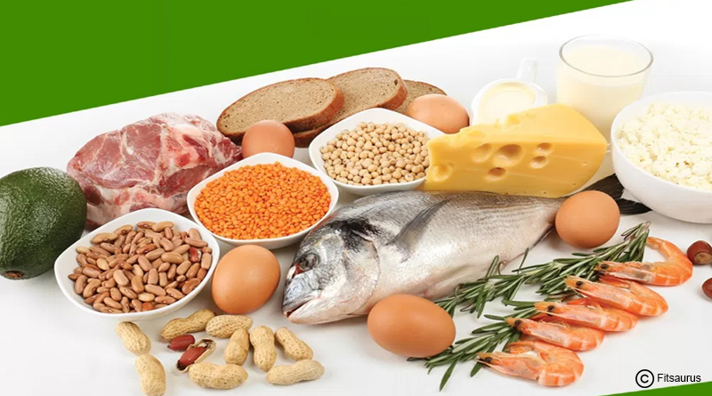 Natural sources of protein:
