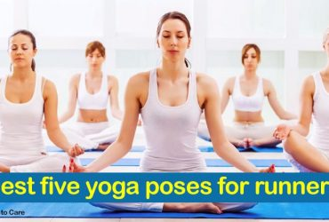 Best five yoga poses for runners