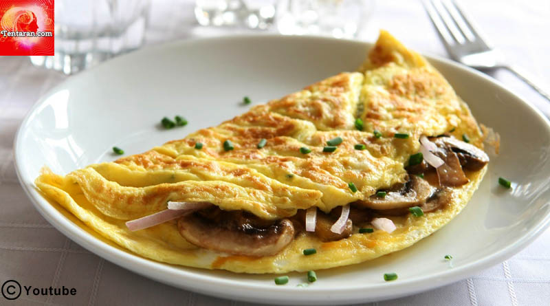 Quick, Easy and Healthy Omelette for Breakfast on the run