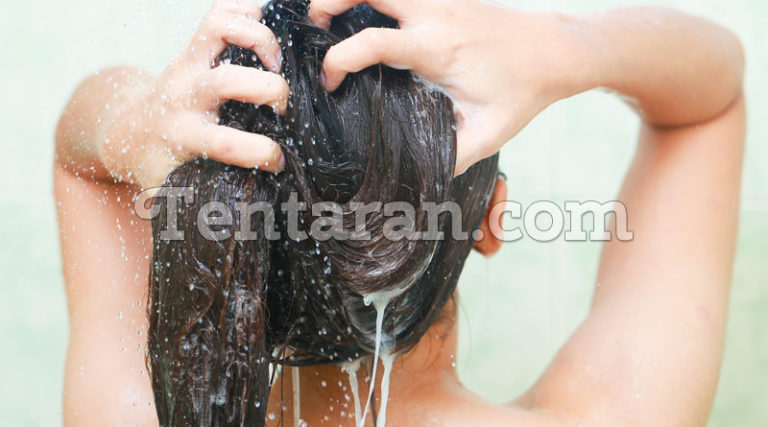 Proper conditioning after hair wash