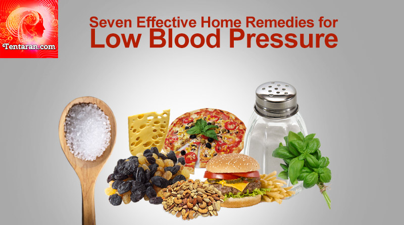 Seven Effective Home Remedies for Low Blood Pressure