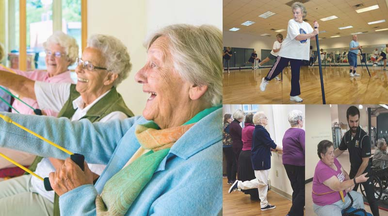 exercises for old people