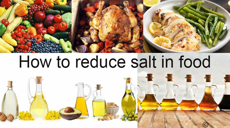how to reduce salt in food