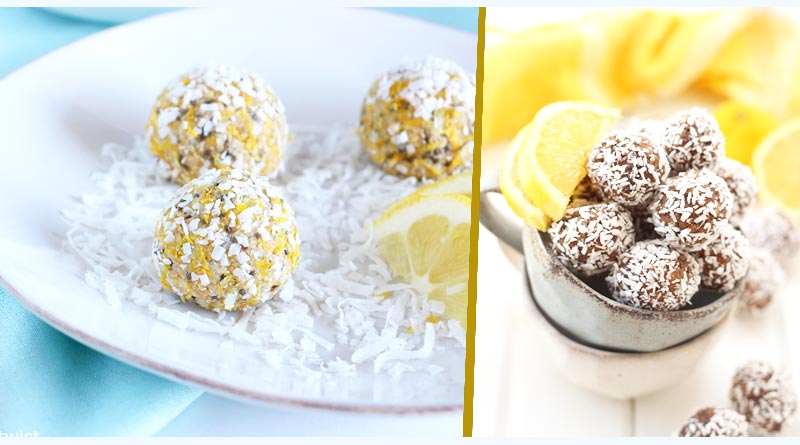 Lemon Coconut Power Bites