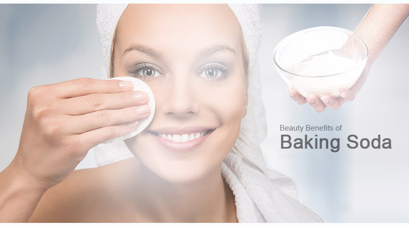 beauty benefits of baking soda