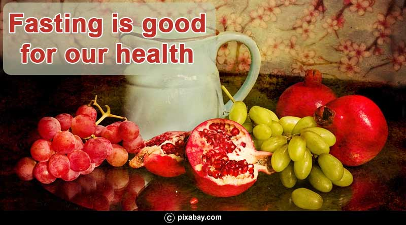 fasting is good for our health
