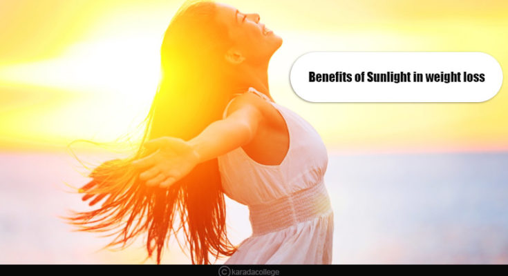 benefits of sunlight in weight loss