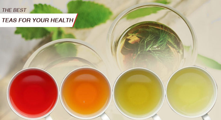 Know about the best teas for your health
