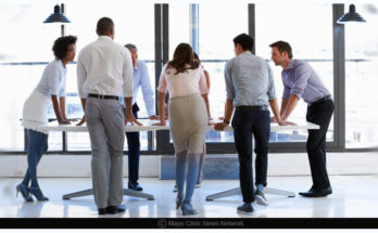 standing more at work can help you burn calories