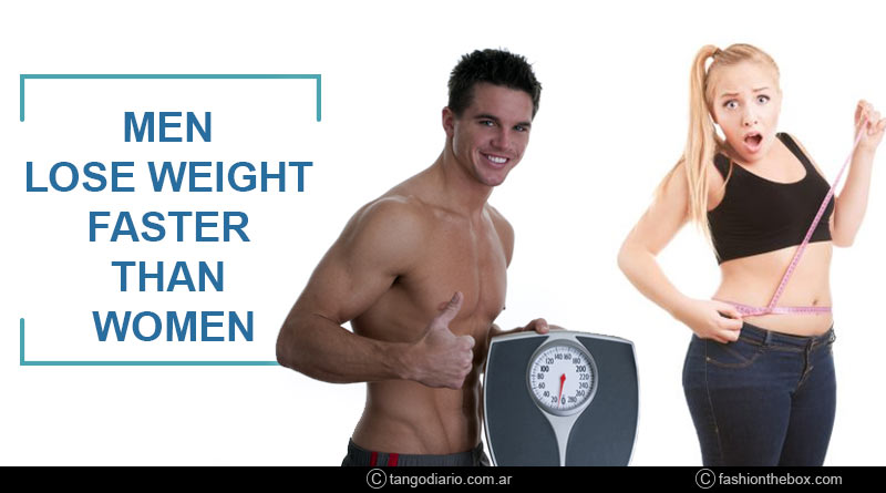 Can men lose weight faster than women
