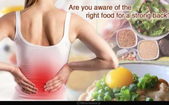 right food for a strong back