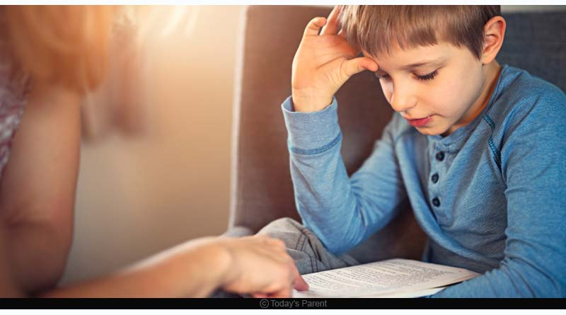 dyslexia symptoms in kids