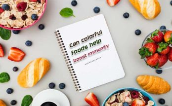 colorful foods help boost immunity