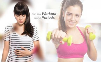 can you workout during periods