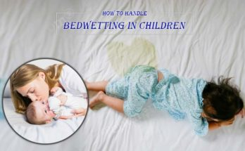 how to handle bed wetting in children