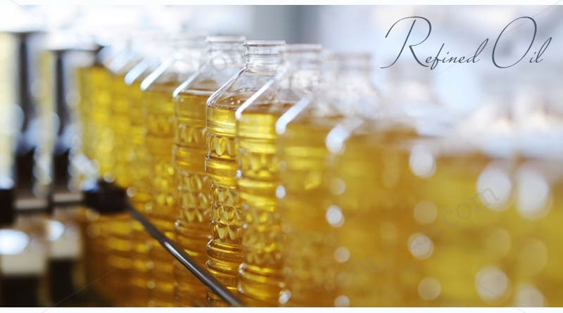 Less use of Refined Oil