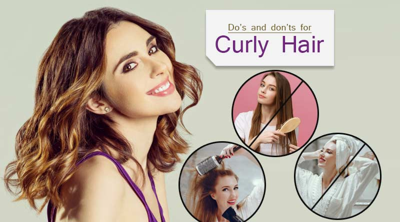 do's and don'ts for curly hair