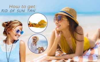 how to get rid of sun tan