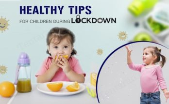 healthy tips for children during lockdown
