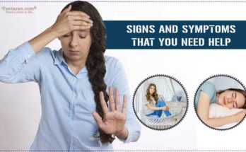 signs and symptoms that you need help