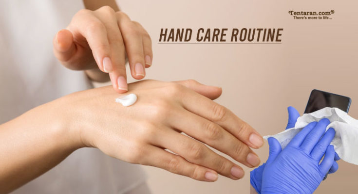 hand care routine
