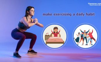 make exercising a daily habit