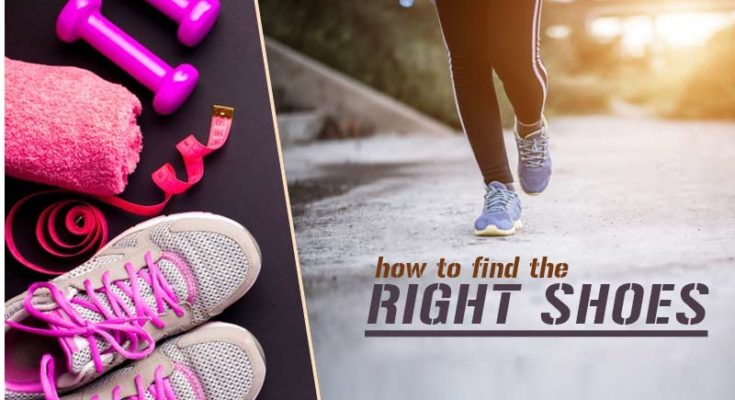 how to find the right shoes