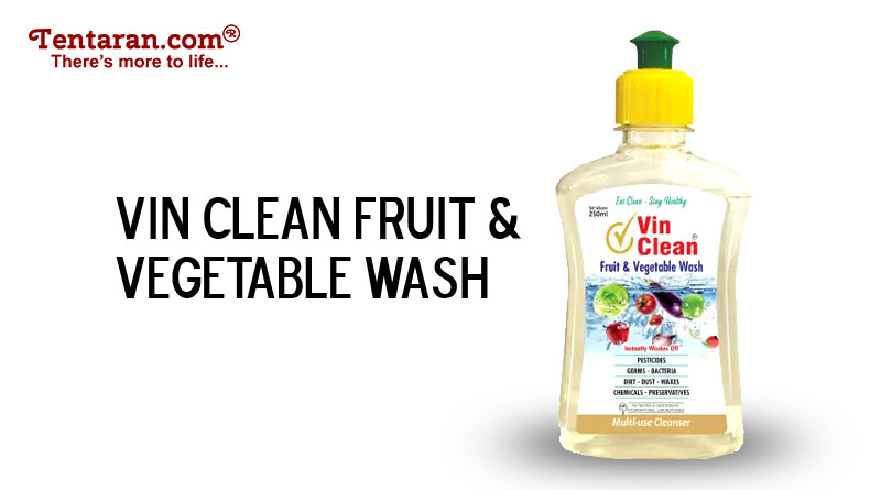 sanitize fruits and vegetables