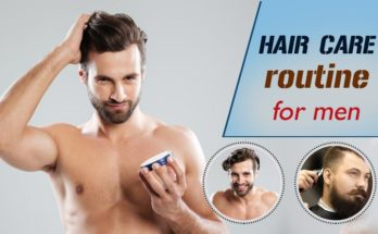hair care routine for men
