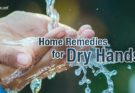 home remedies for dry hands english