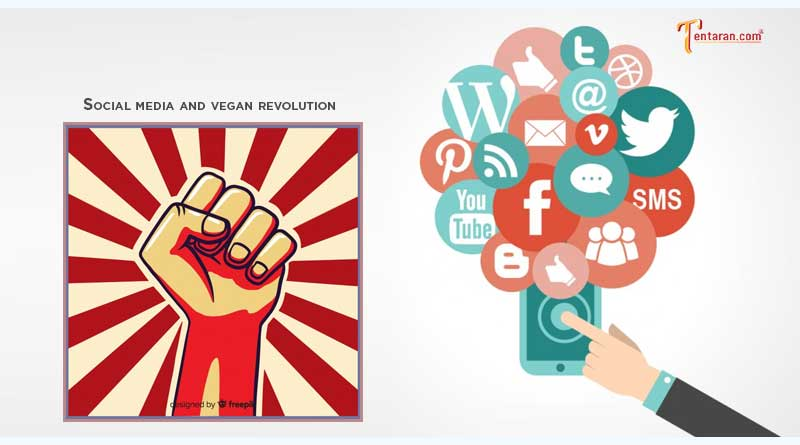 social media and the vegan revolution