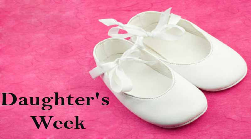 daughter's week
