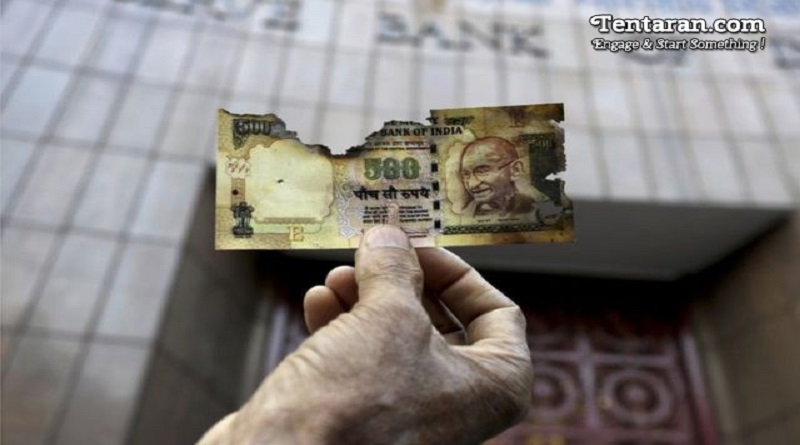 How will India destroy 20 billion banknotes