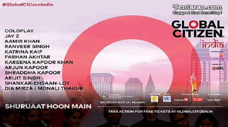 global citizen festival in India