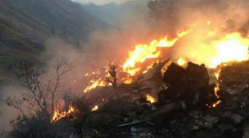 pakistan plane crashed