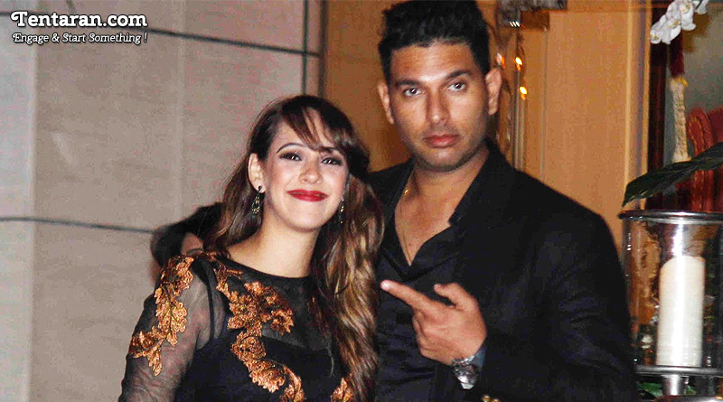 Hazel Keech's Beautiful Note For Husband Yuvraj Singh