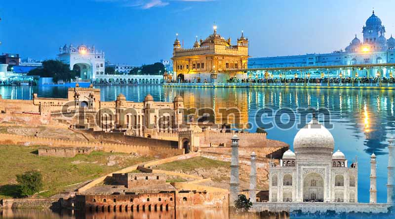 Visit the Golden Triangle with Punjab; travel in time and be a part of India's history