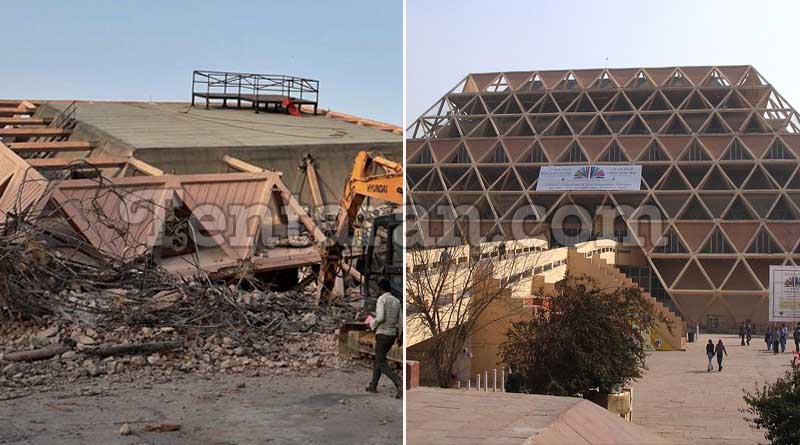 Pragati Maidan's Hall of Nations demolished
