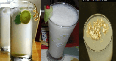 lemon water lassi sattu drink