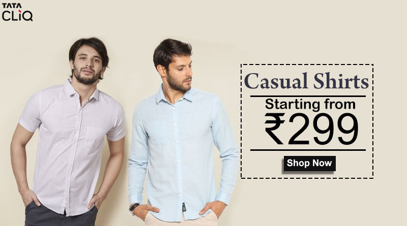 Casual Shirts Rs299/