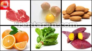 Food for hair : Eat your way to healthy hair !