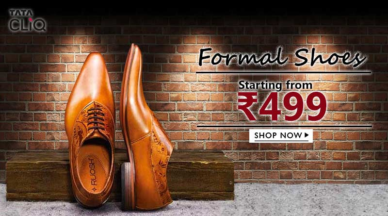 Men Formal Shoes only on TATA CLIQ