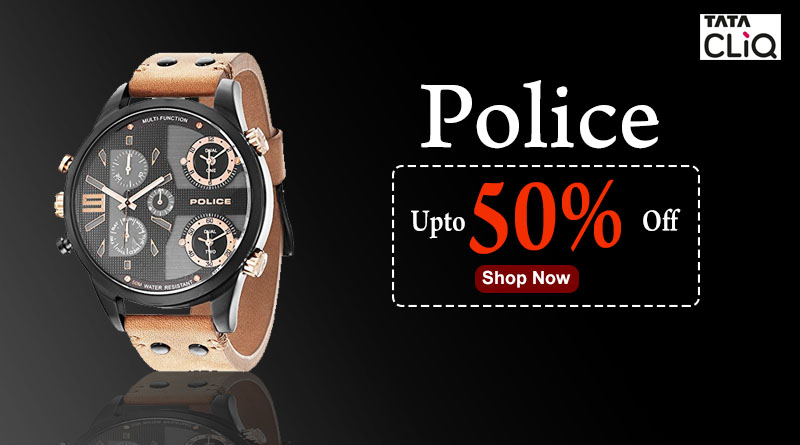 Police Watch 50% off
